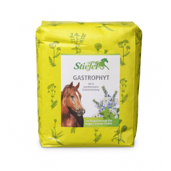 Stiefel Gastrophyt, byliny pro regulaci žaludečního a střevního traktu, sáček 1 kg byliny řezané