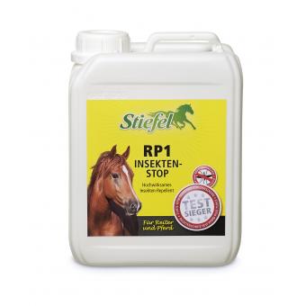 Repelent Stiefel RP1 na koně a jezdce, ekonomické balení kanystr 2,5l