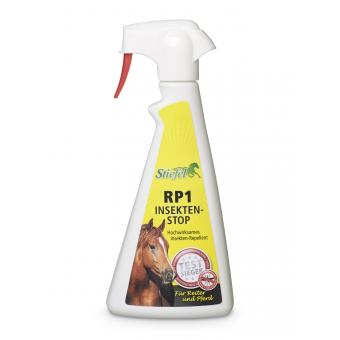 Stiefel Repelent RP1, dlouhotrvající, šetrná ochrana proti hmyzu bez zápachu, láhev s rozprašovačem 500 ml