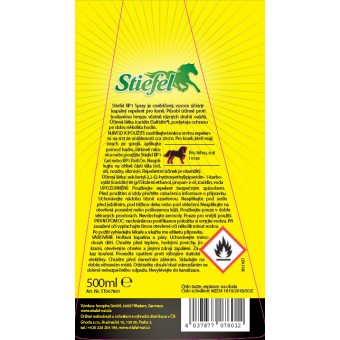 Etiketa Stiefel Repelent RP1