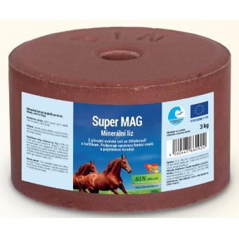 Super Mag, minerální liz s hořčíkem, vápníkem a fosforem